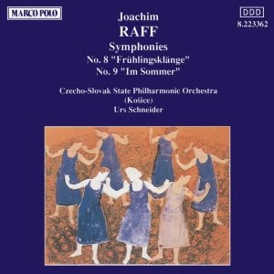 Image for 'RAFF: Symphonies Nos. 8 and 9'