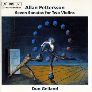 Image for 'Pettersson: Seven Sonatas for Two Violins'