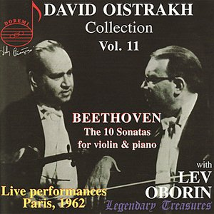 Image for 'Beethoven: The 10 Sonatas For Violin and Piano - David Oistrakh Collection Vol. 11'