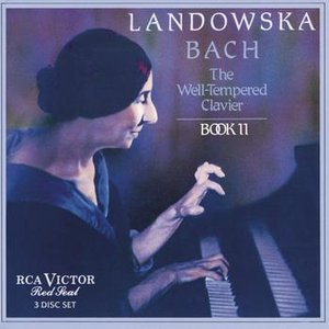 Image pour 'Bach: The Well Tempered Clavier, Book II'