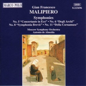 Image for 'MALIPIERO: Symphonies Nos. 5, 6, 8 and 11'