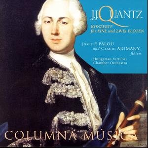 Image for 'J.J. Quantz: Konzerte Für Eine Und Zwei Flöten'