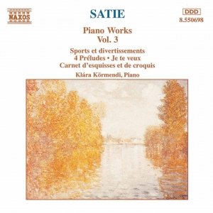 Image for 'SATIE: Piano Works, Vol.  3'