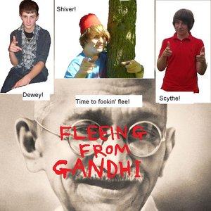 Imagem de 'Fleeing From Gandhi'