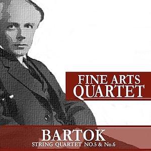 Image for 'Bartók: String Quartet No. 5 and No. 6'