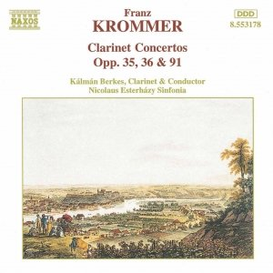 Immagine per 'KROMMER: Clarinet Concertos Opp. 35, 36 and 91'