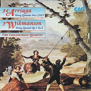 Image for 'Wikmanson: String Quartet Op. 1 No. 2 in E Minor: Un Poco adagio'
