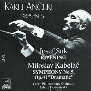 Imagen de 'Suk-Ripening, Kabeláč-Symphony no.5 (Czech Philharmonic Orchestra, Libuše Domanínská)'