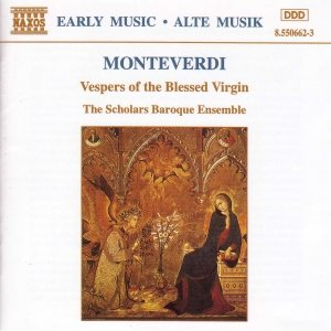 Image for 'MONTEVERDI: Vespers of the Blessed Virgin'