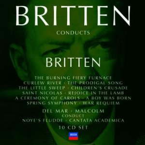 Image for 'Britten conducts Britten Vol.3'