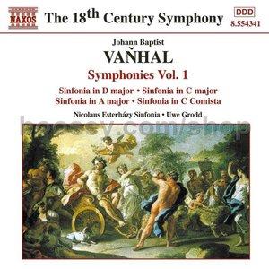 Image for 'VANHAL: Symphonies, Vol. 1'