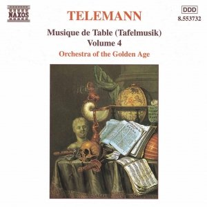 Image for 'TELEMANN: Musique de Table (Tafelmusik), Vol. 4'