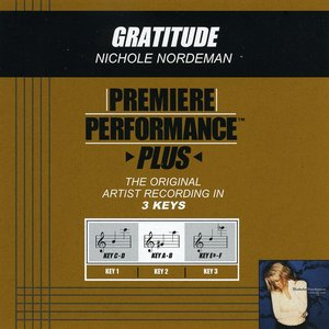 Image for 'Gratitude (Performance Track In Key Of C-D With Background Vocals)'