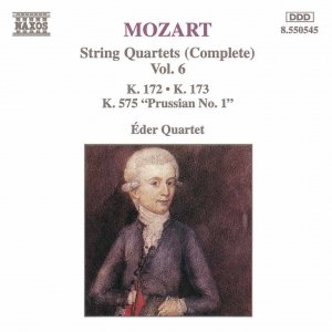 Image for 'MOZART: String Quartets, K. 172-173 and K. 575, 'Prussian No. 1''