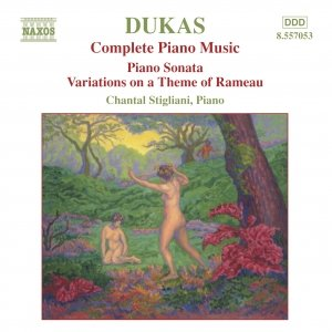 Bild für 'DUKAS: Piano Sonata / Variations on a Theme of Rameau'