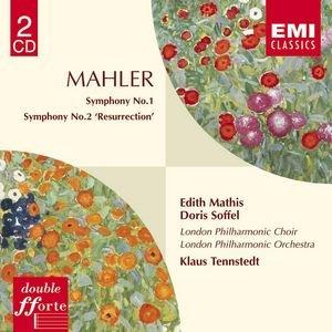 Image pour 'Mahler : Symphonies 1 & 2'