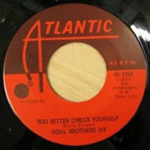 Image pour 'You Better Check Yourself / What Can You Do When You Ain't Got Nobody'