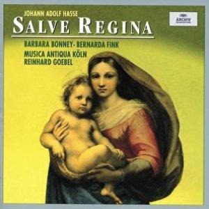 Image for 'Hasse: Salve Regina'