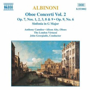 Image for 'ALBINONI: Oboe Concertos, Vol.  2'