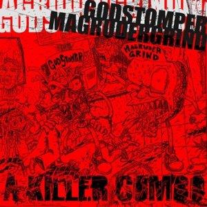 """Imagem de 'Godstomper / Magrudergrind - split 7""""'"""