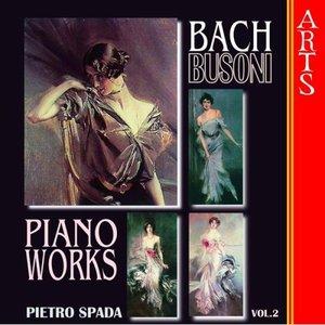 Bild für 'Busoni / Bach: Complete Transcriptions for Piano Vol. 2'