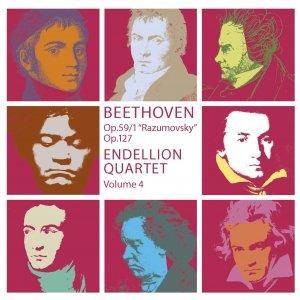 Image for 'Beethoven : String Quartets Volume 4'