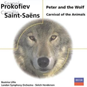 Image for 'Prokofiev: Peter and the Wolf/Saint-Saens: Carnival of the Animals'