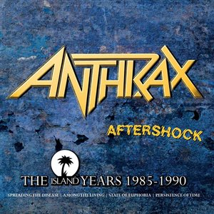 Image pour 'Aftershock - The Island Years 1985 - 1990'