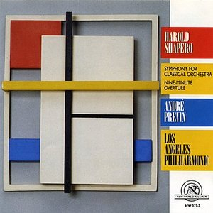 Immagine per 'Harold Shapero: Symphony for Classical Orchestra/Nine-Minute Overture'