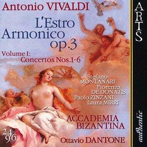 Image for 'Vivaldi: L'Estro Armonico op. 3, Vol. 1: Concertos Nos. 1-6'
