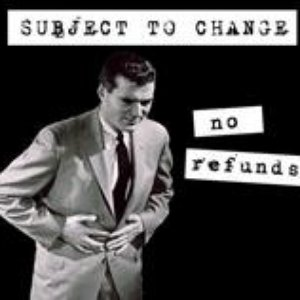 Image for 'No Refunds'