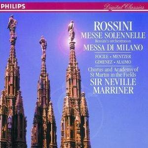 Image for 'Rossini: Petite Messe Solenelle/Messa di Milano (2 CDs)'