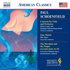 Image pour 'Schoenfield: Viola Concerto / Four Motets / the Merchant and the Pauper'