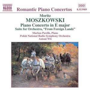 Image for 'MOSZKOWSKI: Piano Concerto in E Major / From Foreign Lands'