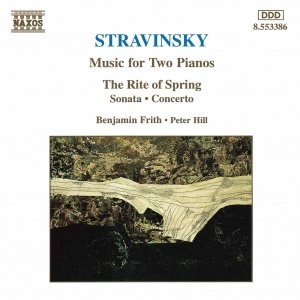 Bild für 'STRAVINSKY: Music for Two Pianos'