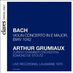 Image for 'Arthur Grumiaux - Bach Concerto in E Major'
