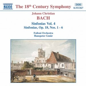 Image for 'BACH, J.C.: Sinfonias, Vol.  4'