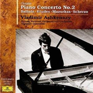 Bild för 'Chopin: Piano Concerto No.2 / Ballade / Etudes / Mazurkas / Scherzo'