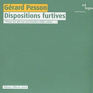 Imagem de 'Pesson: Dispositions furtives'