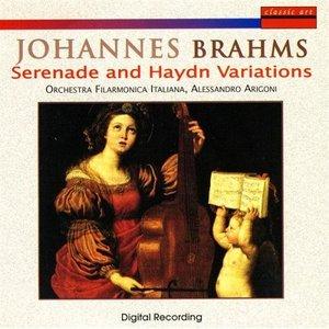 Imagen de 'Johannes Brahms: Serenade And Haydn Variations'
