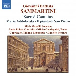 Bild för 'SAMMARTINI: Maria Addolorata / Il Pianto di San Pietro'