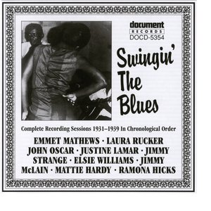 Image for 'Swingin' The Blues (1931-1939)'