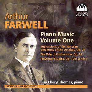 Image for 'Farwell: Piano Music, Vol. 1'