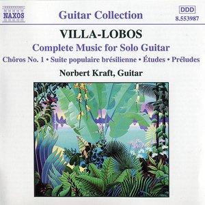 Immagine per 'Villa-Lobos -  Complete Music for Solo Guitar'