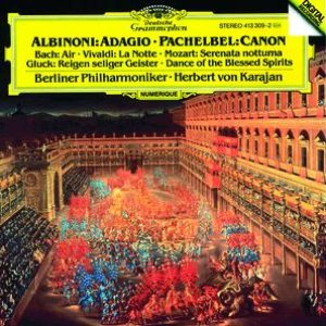 Image for 'Albinoni: Adagio in G minor / Pachelbel: Canon'