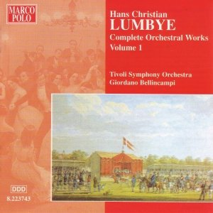 Image for 'LUMBYE: Orchestral Works, Vol.  1'