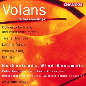 Image for 'Volans: This Is How It Is / Walking Song / Leaping Dance / Concerto For Piano And Wind Instruments'