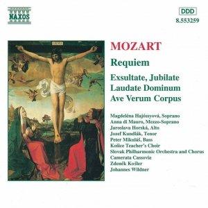 Image for 'MOZART: Requiem / Exultate, Jubilate / Laudate Dominum'