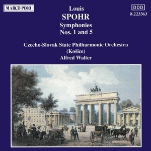 Image for 'SPOHR: Symphonies Nos. 1 and 5'