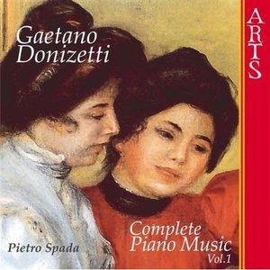 Bild für 'Donizetti: Complete Piano Music - Vol. 1'
